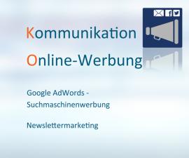 Online Werbung, Online Anzeigen, Google AdWords