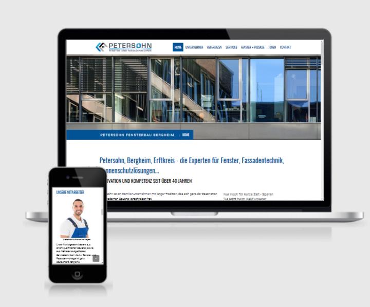 homepage erstellen für handwerker, webdesign